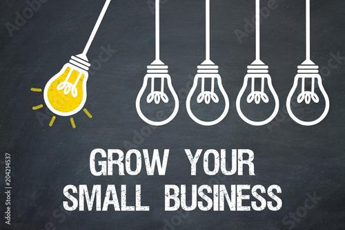 fototapeta na ścianę Grow your small Business