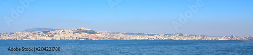 Plexiglas Napels Naples skyline, Italy