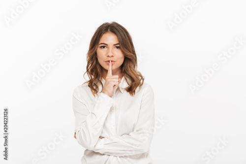 Portrait of a confident young business woman