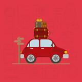 travel around the world set icons vector illustration design - 204225371