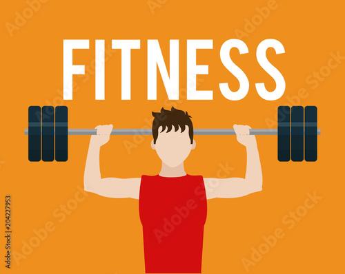 Fitness man lifestyle