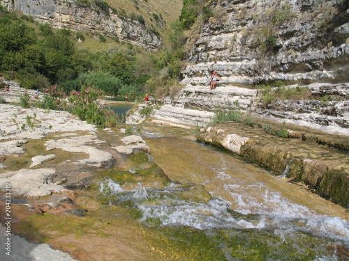 Aluminium Bergrivier Cava Grande - Sicily - Italy