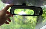Specchio retrovisore in campagna - Primavera - 204242741