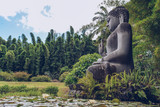 Buddha Statue in Color
