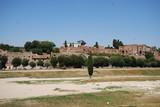 Circus Maximus; sky; tree; village; historic site