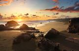 Crépucule plage de Bois Blanc, La Réunion © Prod. Numérik