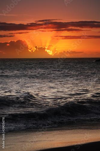 Crépuscule, Réunion