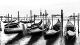 Venice, black and white, high key, Italy, Europe