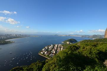 Rio de Janeiro; sky; coast; sea; promontory © dorinionescu