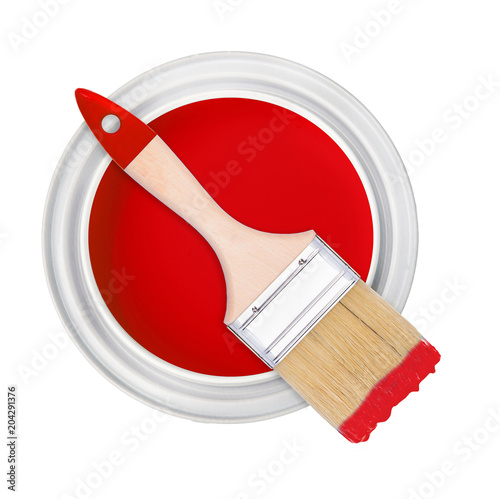 paint brush bank isolate