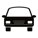 car sedan vehicle icon vector illustration design - 204301753