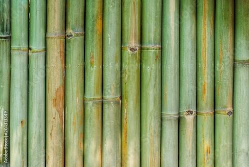 Plexiglas Bamboe bamboo wall background texture pattern brown nature garden house wallpaper line