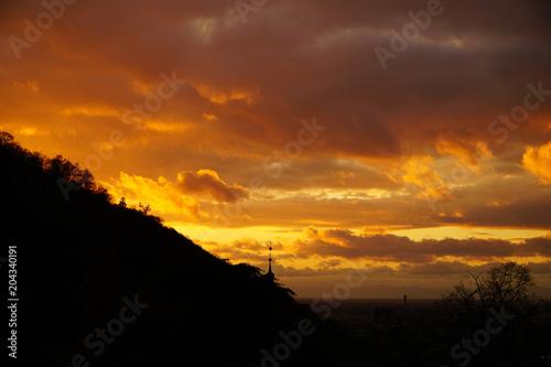 Sunset in Heidelberg © Eduardo Ludi