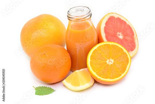 Pomarańczowy sok owocowy