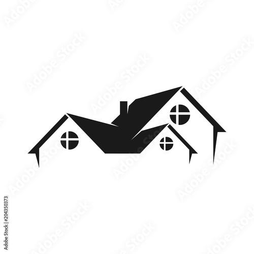 Gamesageddon Home Logo Roof Icon Building Symbol Vector Eps 08