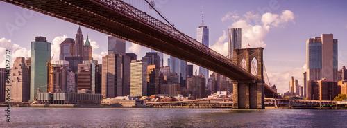 New York au coucher du soleil - 204352302