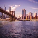 New York au coucher du soleil