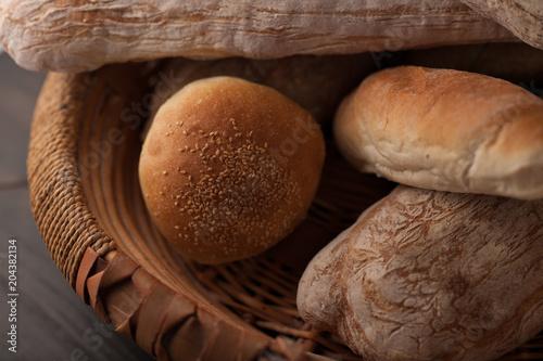 Fototapeta typical Italian bread