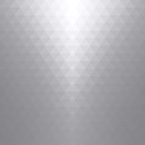 White and gray soft triangles, abstract gradient art geometric background. - 204399794