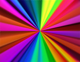 Abstract bright and colorful starburst background. - 204405396