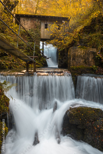 Hell´s Mill (Infernuko Errota) in Baztan valley, Navarra, Spain