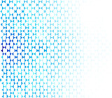 Abstract blue geometric shapes, vector background. - 204408530
