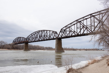 River Railroad bridge