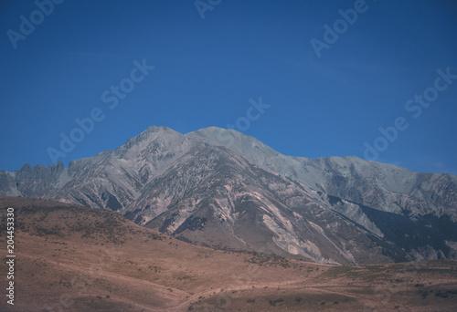 Aluminium Cappuccino Mountain Landscape