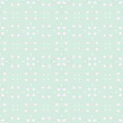 Spring Tender Colorful Seamless Pattern. Circles, Spots and Dots Endless Textures. Perfect for Pastel Background and Surface Design. © ANNA