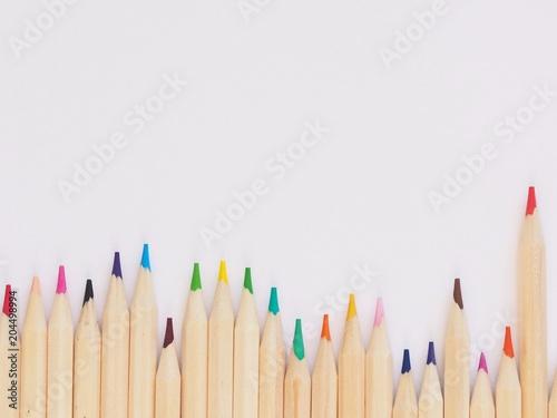 Pencil, Color, Colour, Wooden, Blog, Write, Flatlay, Desk, Work, Office, Business, Wallpaper