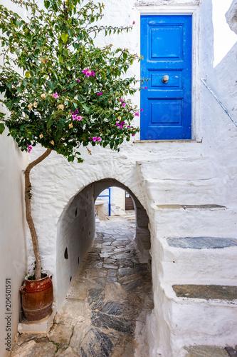 Ano Syros the beautiful island in Greece