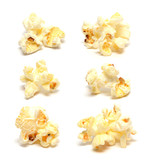Popcorn collection isolated on white background - 204507323