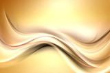 Gold modern bright waves art. Blurred pattern effect background. Abstract creative graphic. Web wallpaper conept. - 204523124