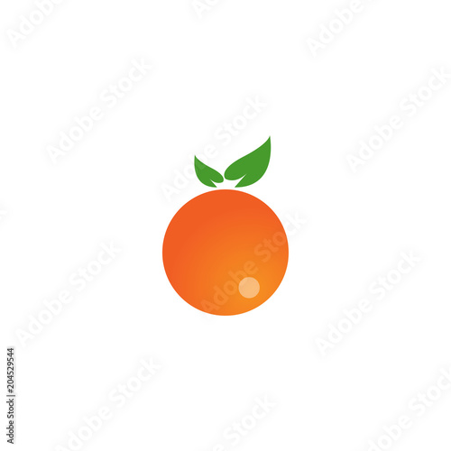 Colorful fruit logo icon template - 204529544