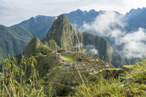 The road to Machu Picchu and beautiful landscapes © Peto