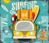 Surfing Poster - 204545783