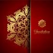 Decorative invitation background - 204578347