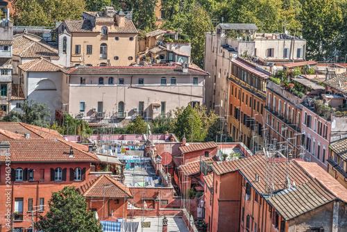 Malownicze dachy w Rzymie
