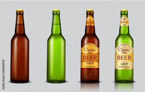 Fototapeta Beer glasses
