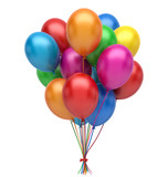 Colorful balloons - 204660559