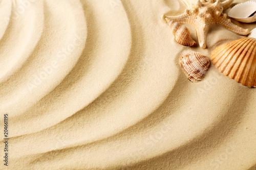 Fototapeta sand dunes as blank background
