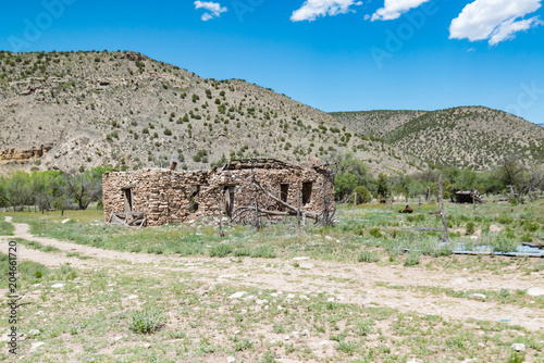 Fotobehang Donkergrijs Lincoln County New Mexico