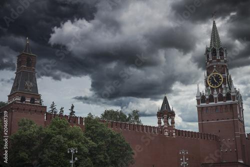Plexiglas Moskou Kremlin