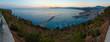 Quadro Castellammare del Golfo sea bay, Sicily, Italy