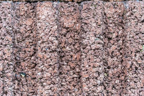Canvas Stenen Concrete wall
