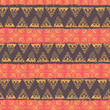 hand drawn african ethnic seamless pattern