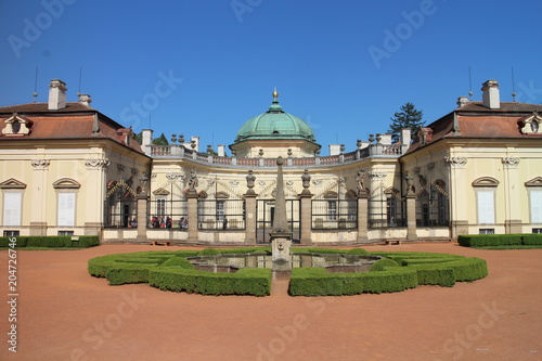 Buchlovice castle with garden, Czech republic