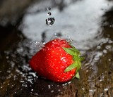 Strawberry. Fresh berry fruit,