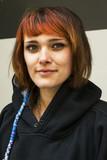 Jeune fille aux cheveux roux - 204734305