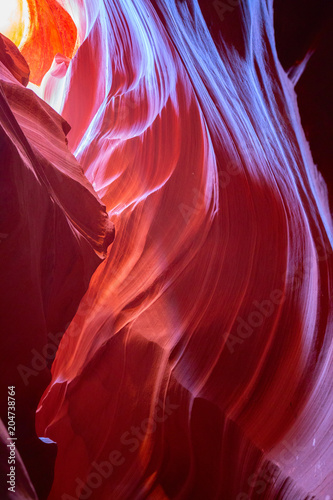 Fotobehang Bordeaux Antelope canyon